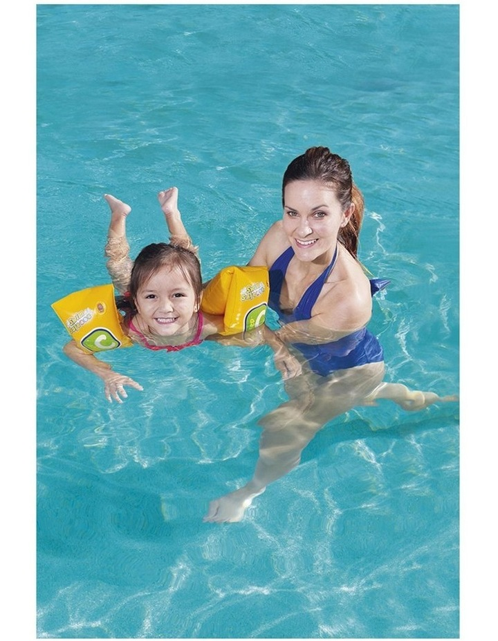 Clark Rubber Armbands Swimming Pool 25x15cm Inflatable Training Floats Kids 3-6y image 4