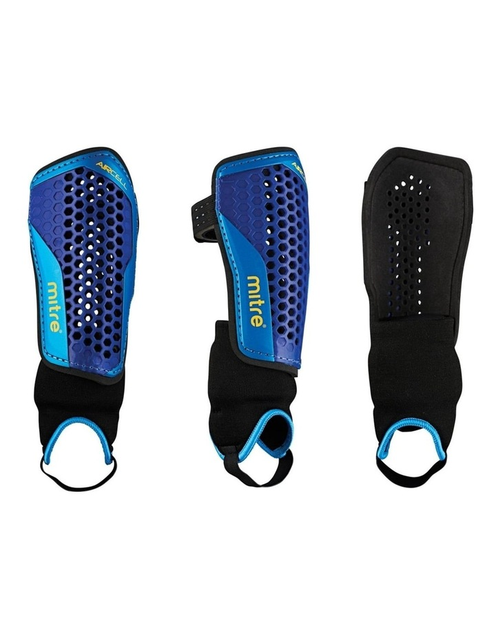 Aircell Carbon Soccer Shinguard/Shin Pad Ankle Sock Protector Size Large image 2