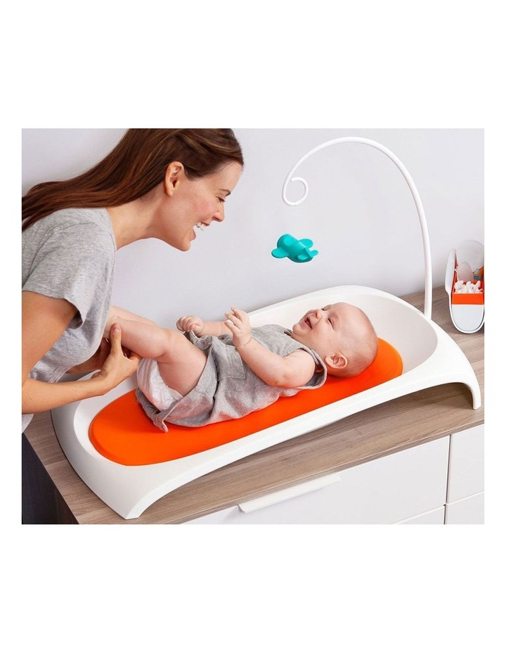 Fresh Changing Station Baby/Infant Contour Change Area with Toy Arm/Foam Pad image 3