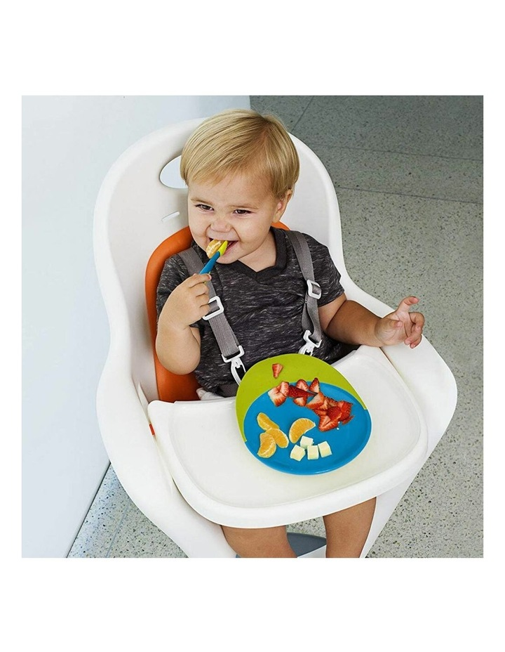 Baby/Toddler 9m  Feeding Catch Food Catcher Plate w/ Suction Base Pink/PP image 3