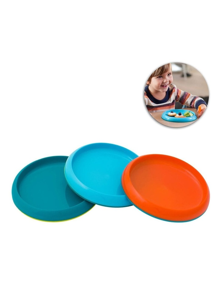 3pc Boys Non Skid Plate 9m  Baby/Kids Table Bowl Safe Food PVC/BPA Free image 5