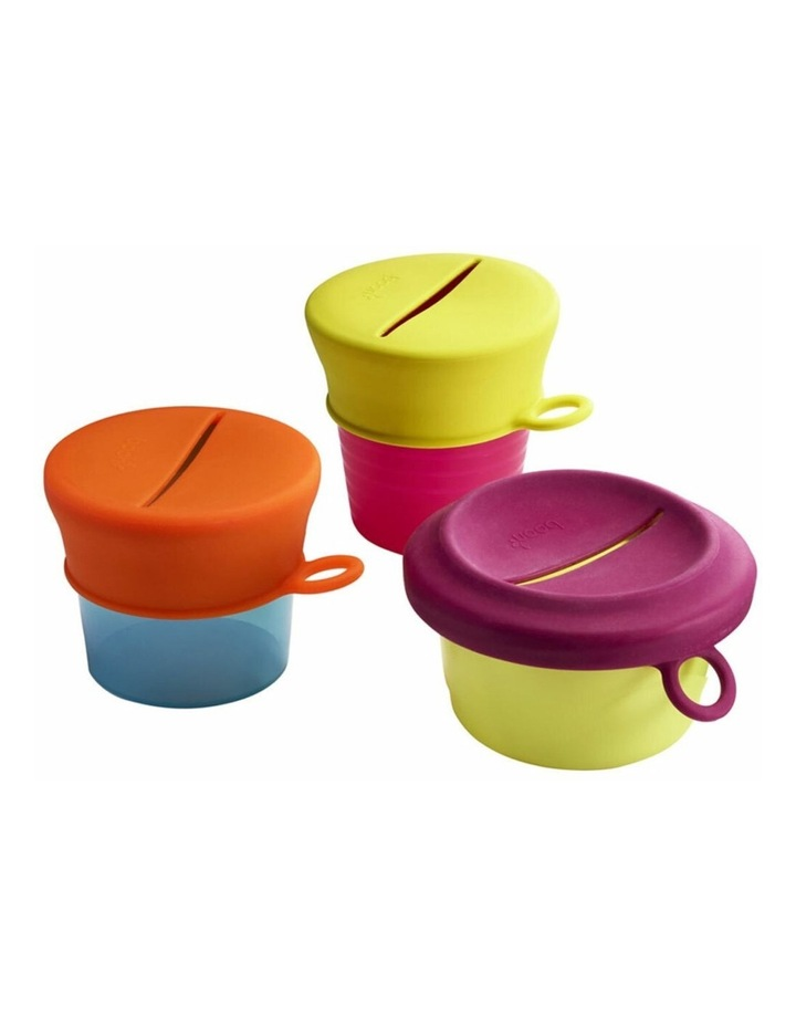 Snug Baby/Toddler Snack Container Food Silicone Lid w/ Cup Storage 9m  Pink image 4
