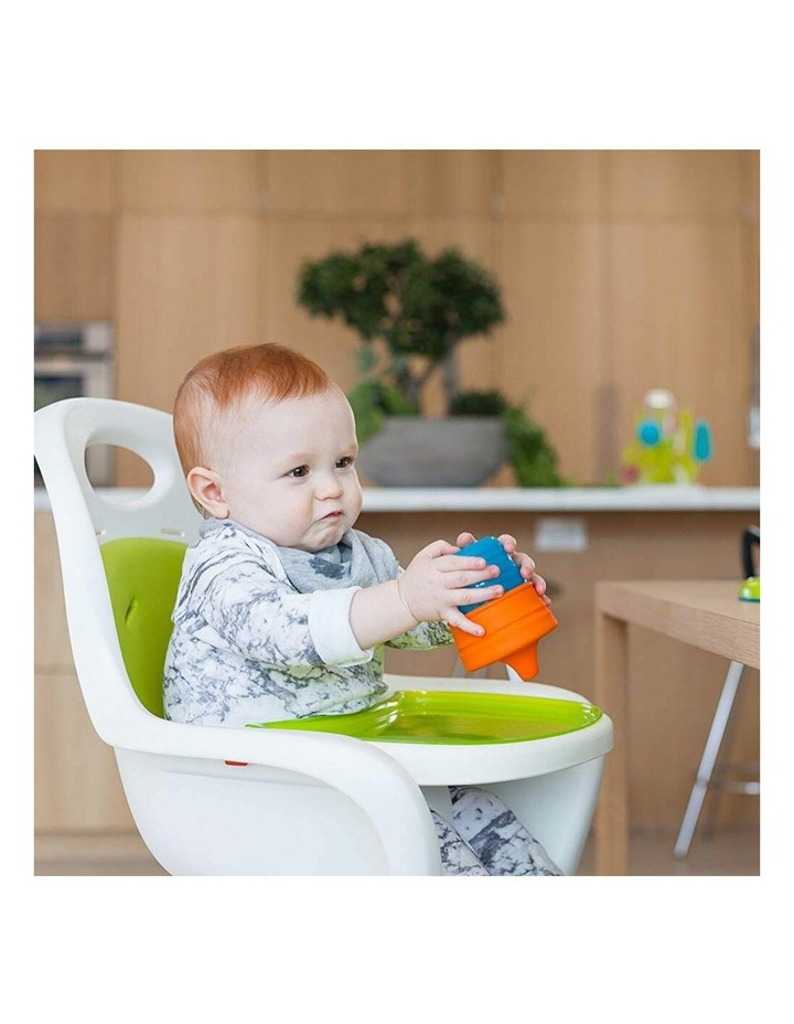 Snug Spout Baby/Boys/9m  Toddler Drink Container Silicone Lids w/ Cup Blue image 6