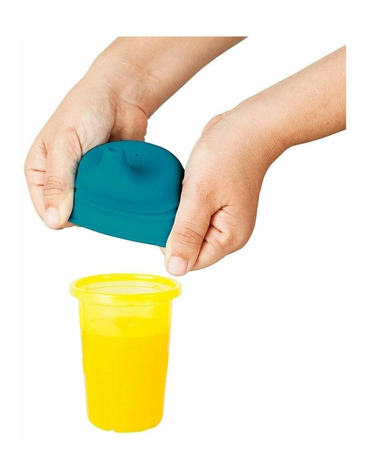 Snug Spout Baby/Boy/9m /Infant Cup Universal Cover/Lid - BL/OR/YL image 2