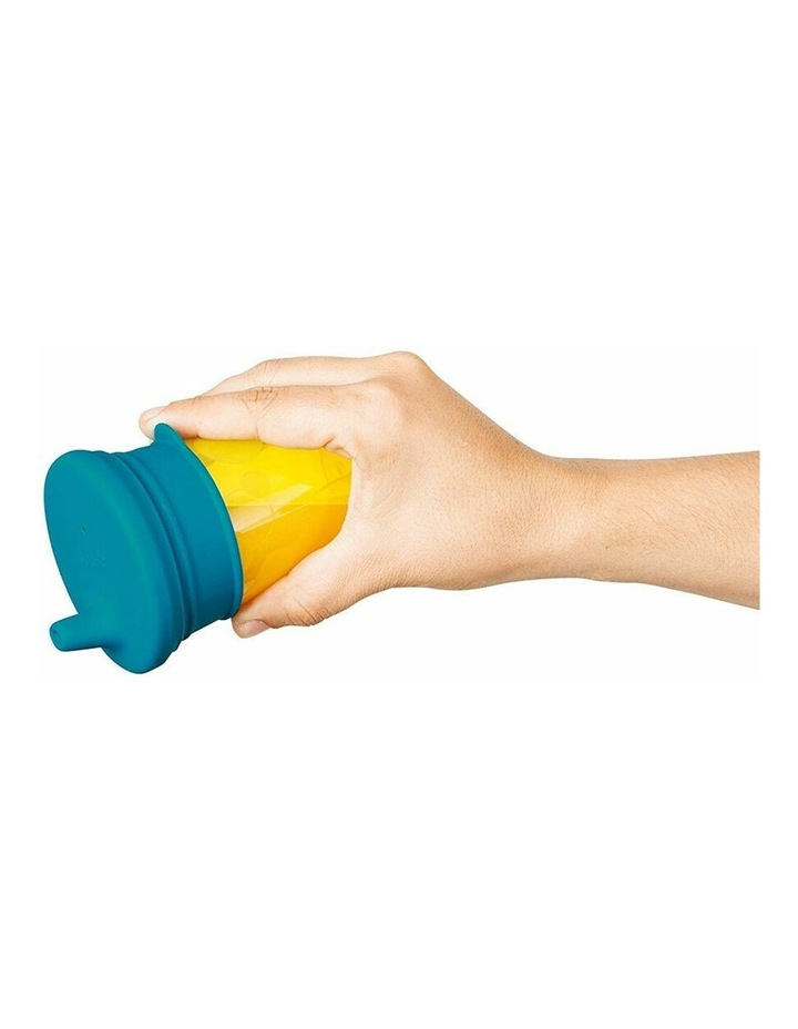 Snug Spout Baby/Boy/9m /Infant Cup Universal Cover/Lid - BL/OR/YL image 3