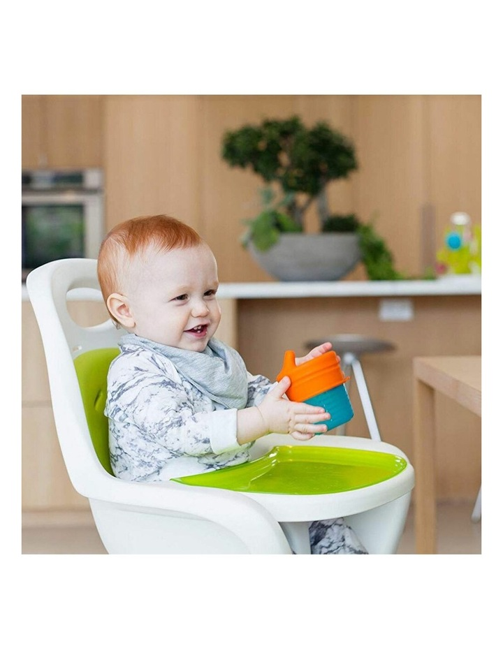 Snug Spout Baby/Boy/9m /Infant Cup Universal Cover/Lid - BL/OR/YL image 6