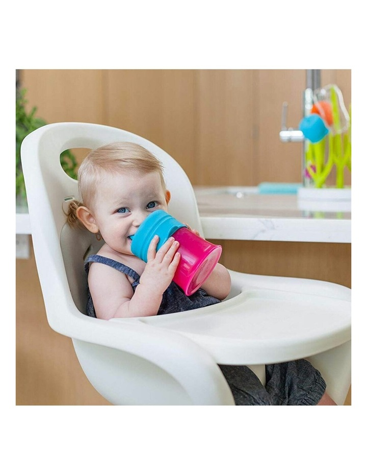 3pc Snug Spout Baby/Girl/9m /Infant Cup Universal Cover/Lid Blue/Pink/PP image 4