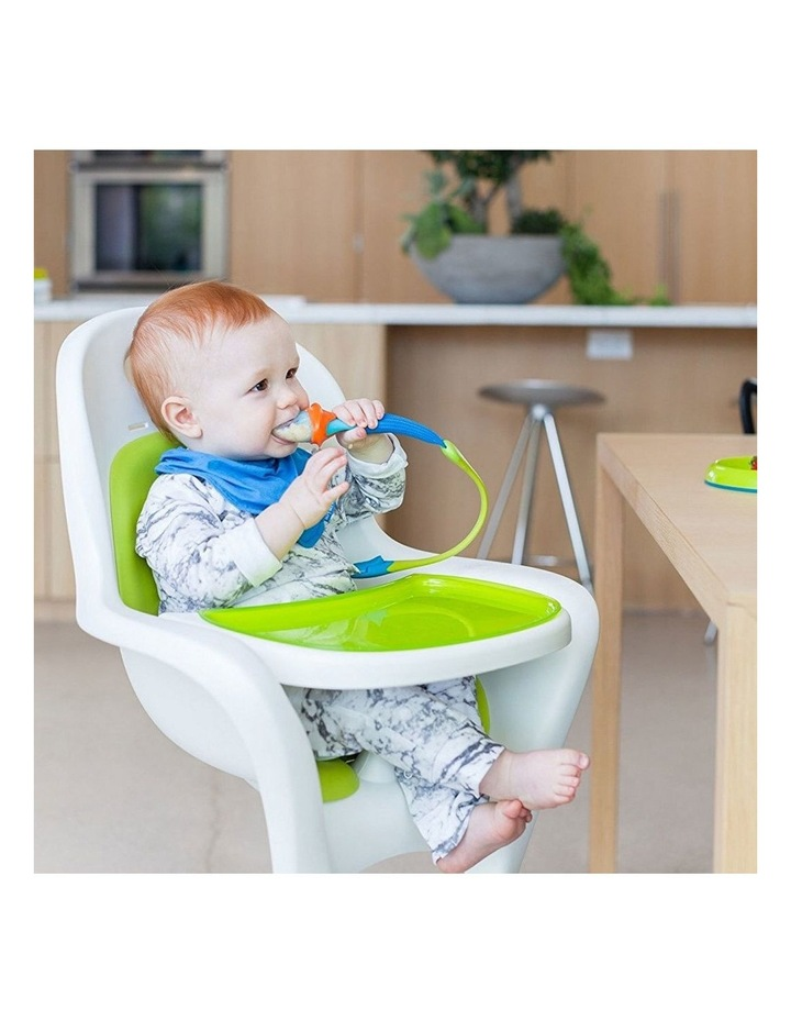 Pulp Silicone Feeder for Baby/Infant Feeding/Weaning/Teething Blue/Orange image 3