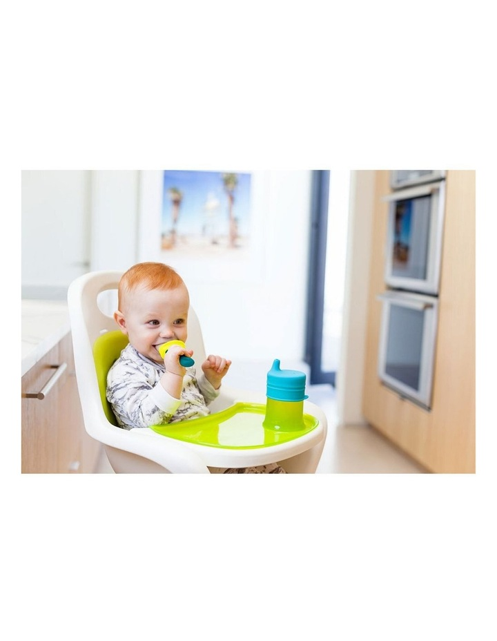 Pulp Silicone Feeder for Baby/Infant Feeding/Weaning/Teething Green/Blue image 2