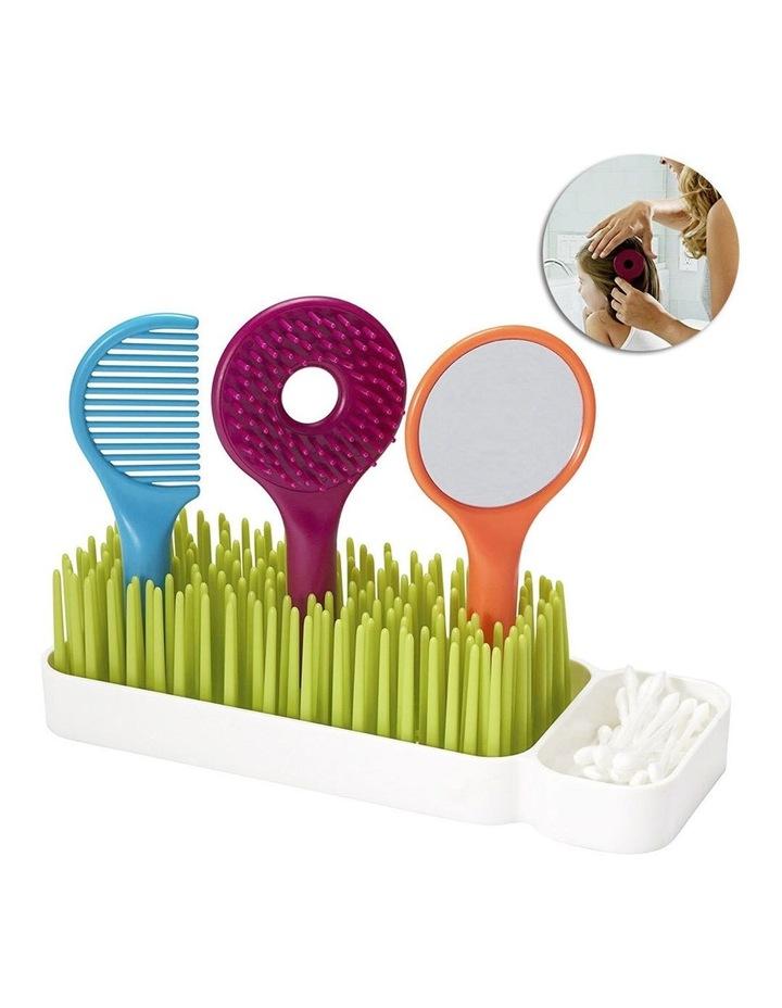 Spiff Baby/Toddler Grooming Kit w/ Brush/Comb/Mirror Caddy Holder Kids Set image 2