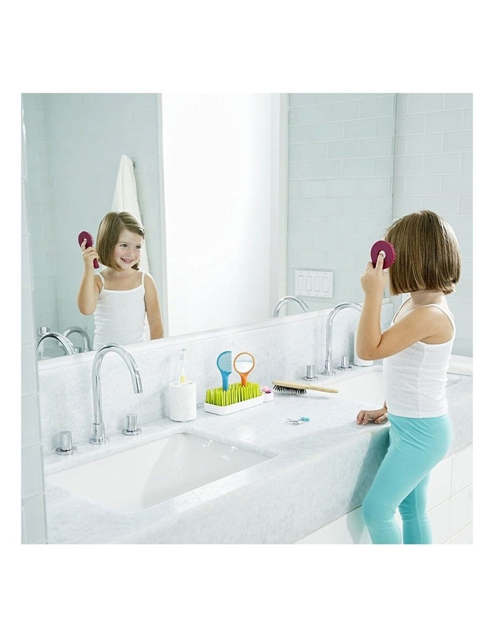 Spiff Baby/Toddler Grooming Kit w/ Brush/Comb/Mirror Caddy Holder Kids Set image 4