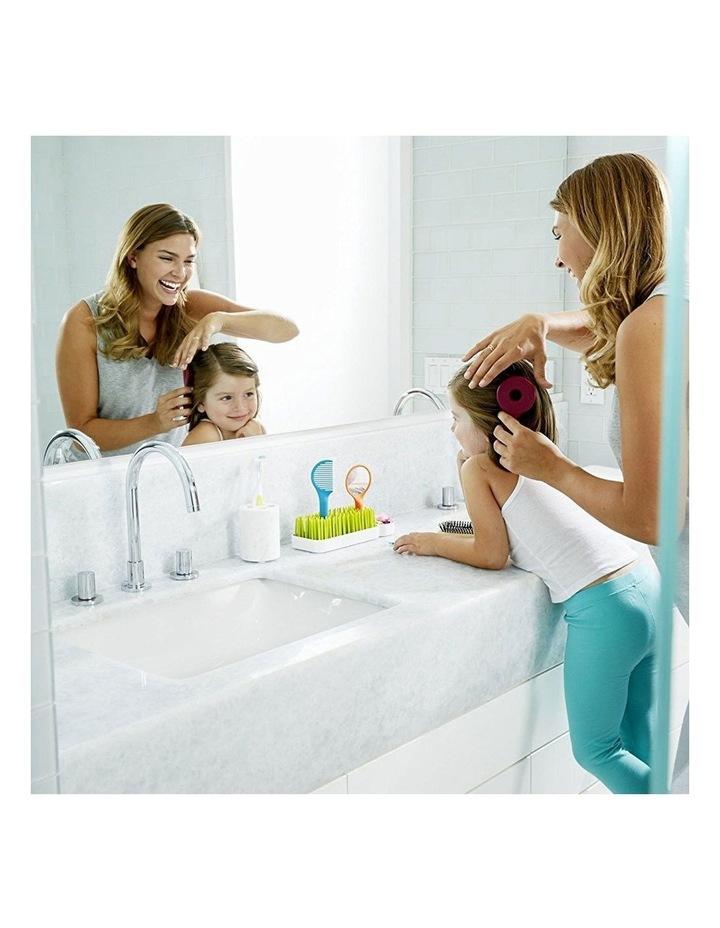 Spiff Baby/Toddler Grooming Kit w/ Brush/Comb/Mirror Caddy Holder Kids Set image 5