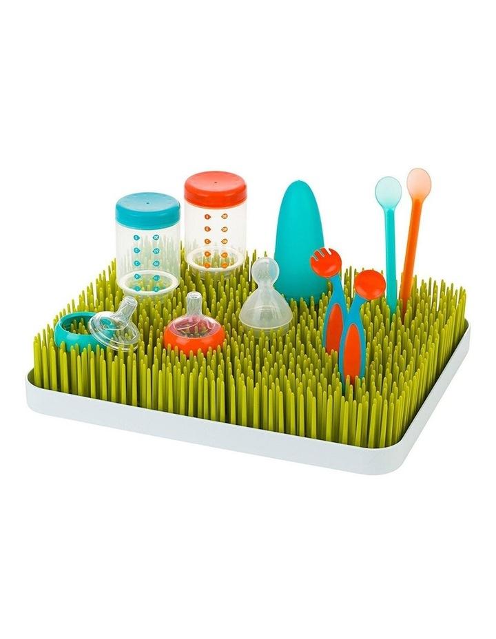Lawn Countertop Drying Rack/Holder/Dryer Baby Bottle/Utensils Green/White image 2