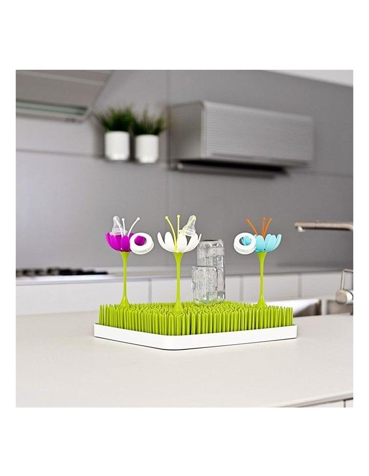 Lawn Countertop Drying Rack/Holder/Dryer Baby Bottle/Utensils Green/White image 4