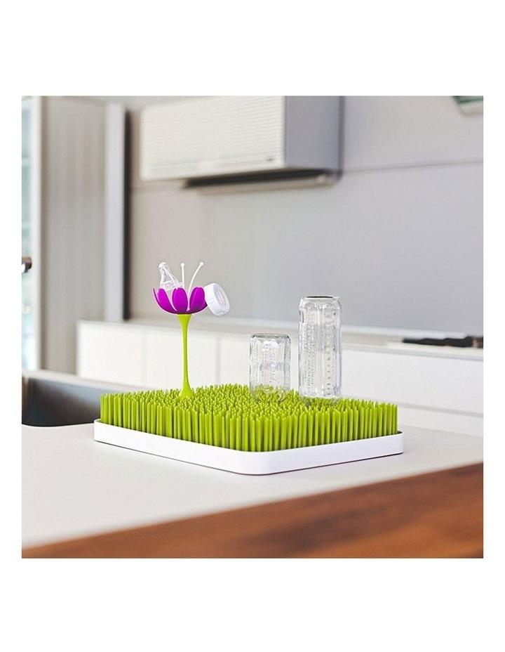 Lawn Countertop Drying Rack/Holder/Dryer Baby Bottle/Utensils Green/White image 6