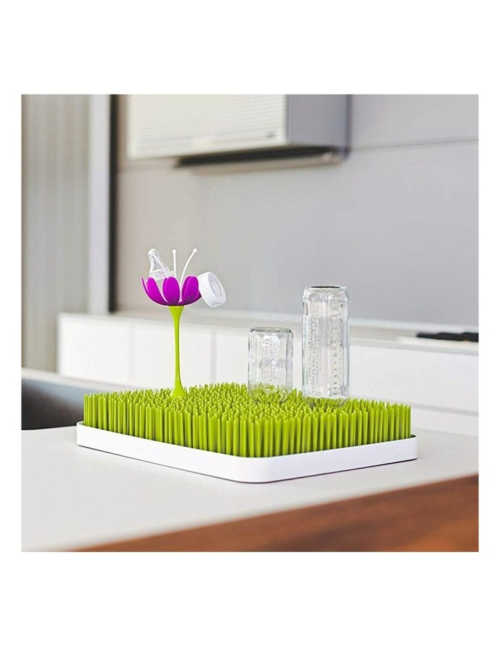 Stem Drying Rack Baby/Infant Accessories for Grass/Lawn Countertop Magenta image 2