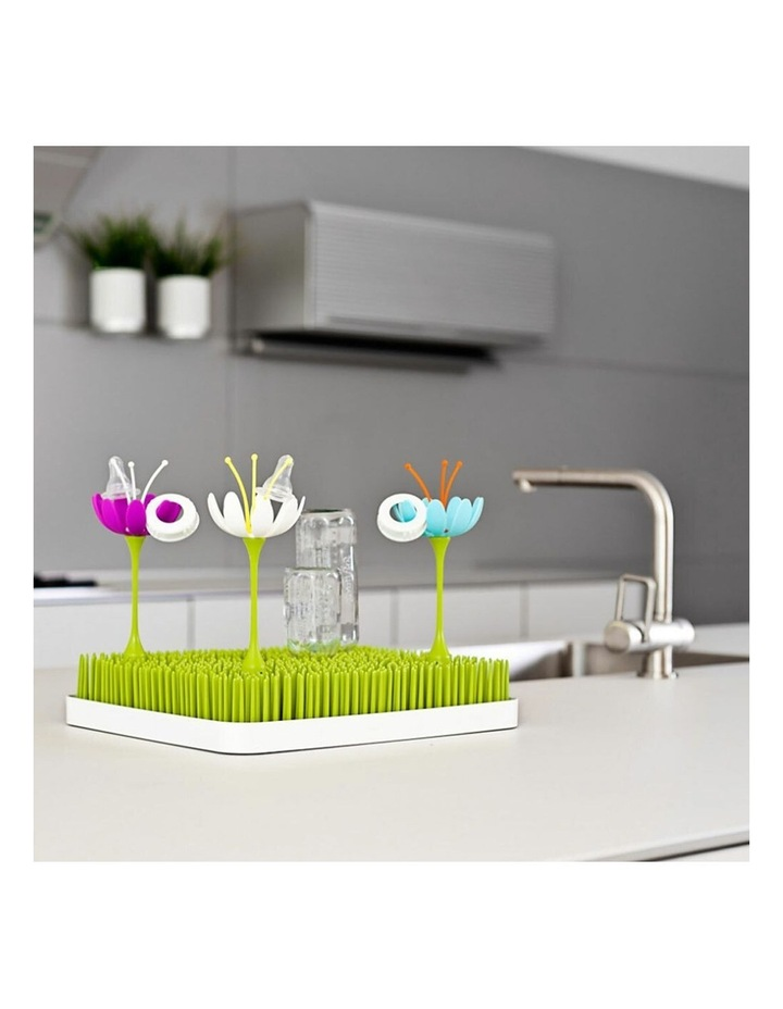 Stem Drying Rack Baby/Infant Accessories for Grass/Lawn Countertop Magenta image 3