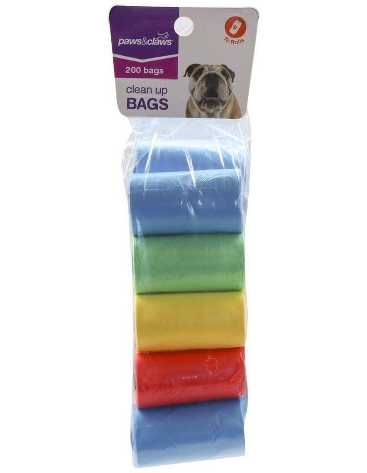 200pc Doggy Clean Up Bags Garbage Poop Bag Pet Dog Waste Storage image 3