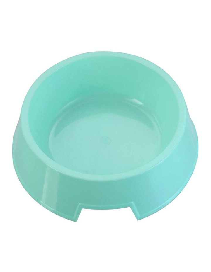 18cm Pets/Dogs Round Essentials Single Bowl/Dishes/Feeders Assorted image 2