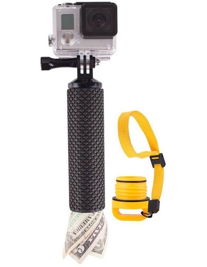 Floating Hand Grip Holder Handheld Mount for Action Camera/Go Pro Black image 1