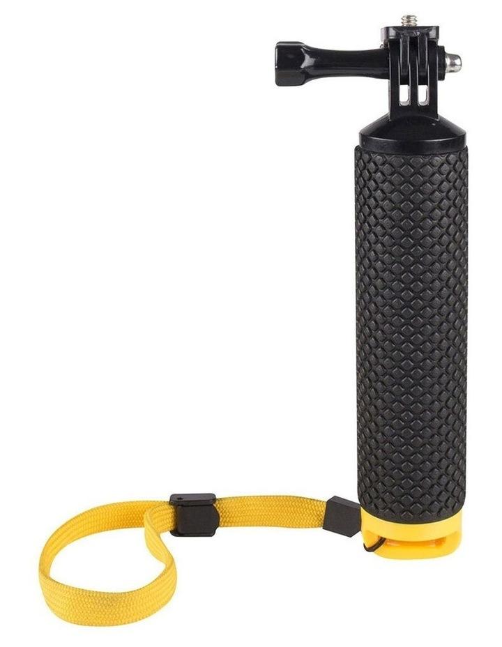 Floating Hand Grip Holder Handheld Mount for Action Camera/Go Pro Black image 3