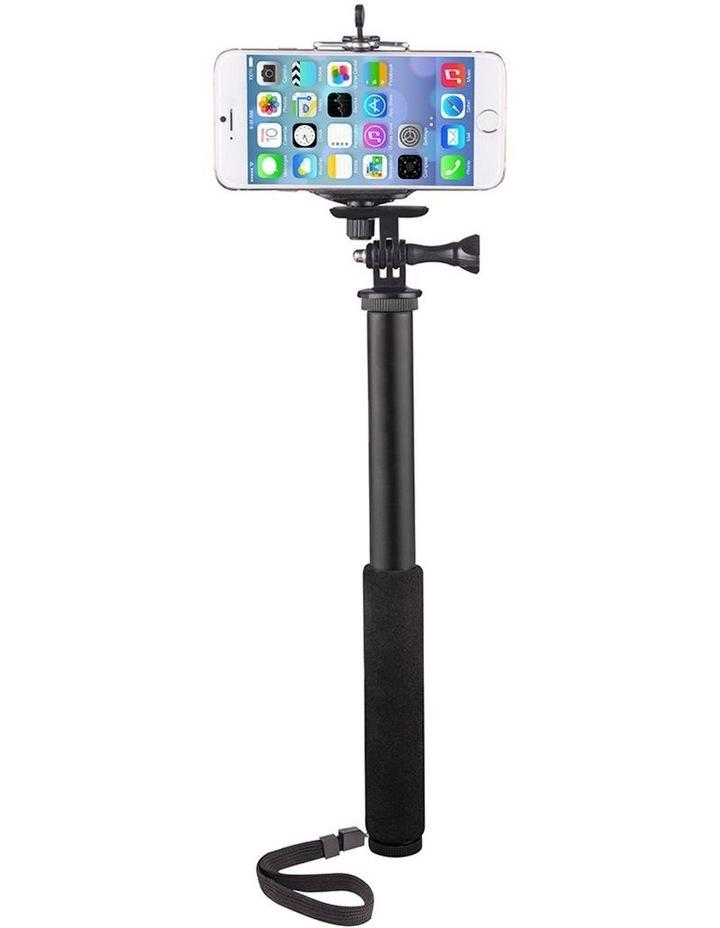 "3-1 Action Selfie Pole Stick 27"" Camera/Phone/GoPro Mount/Cradle/Stand image 1"