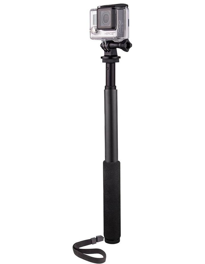 "3-1 Action Selfie Pole Stick 27"" Camera/Phone/GoPro Mount/Cradle/Stand image 2"