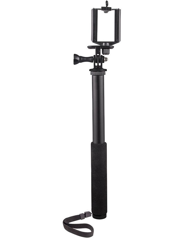 "3-1 Action Selfie Pole Stick 27"" Camera/Phone/GoPro Mount/Cradle/Stand image 3"