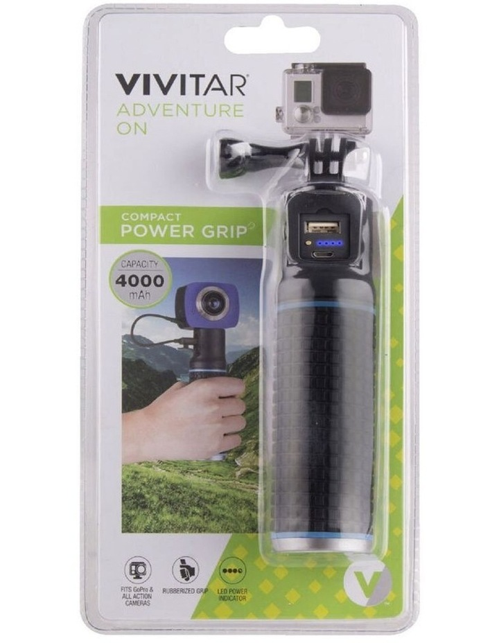 Rechargeable Power Hand Grip Holder Mount for Action Camera/Go Pro Black image 5