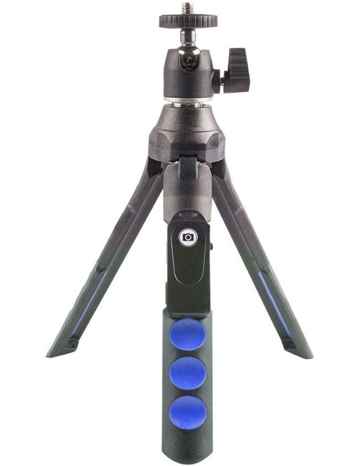 "7-1 Selfie Tripod Camera/Phone/GoPro 36"" Mount/Cradle w/Shutter Release image 2"