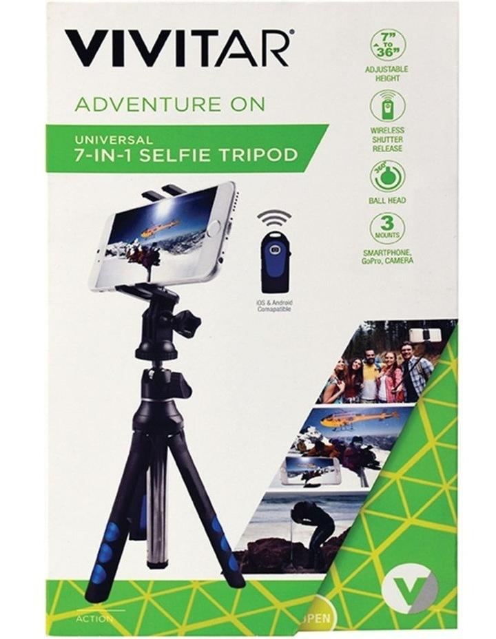 "7-1 Selfie Tripod Camera/Phone/GoPro 36"" Mount/Cradle w/Shutter Release image 3"