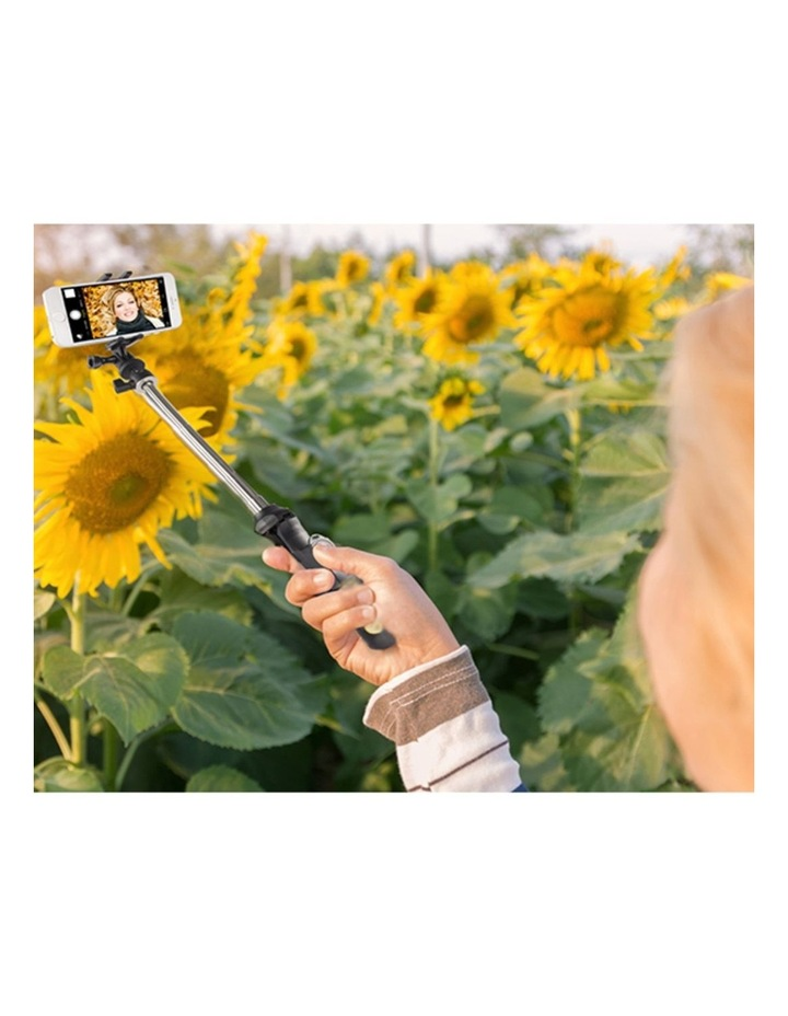 "7-1 Selfie Tripod Camera/Phone/GoPro 36"" Mount/Cradle w/Shutter Release image 5"
