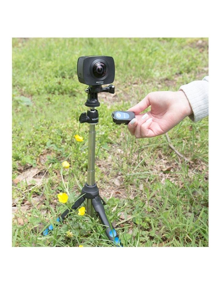 "7-1 Selfie Tripod Camera/Phone/GoPro 36"" Mount/Cradle w/Shutter Release image 7"