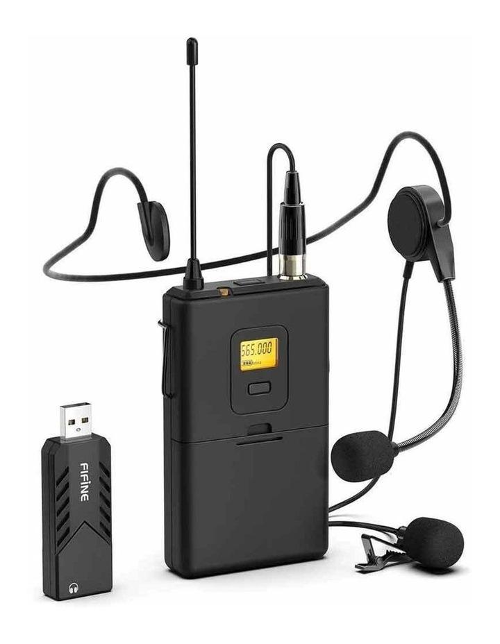 Fifine Technology Lavalier/Headset Cardioid Wireless Microphone Public Address image 1