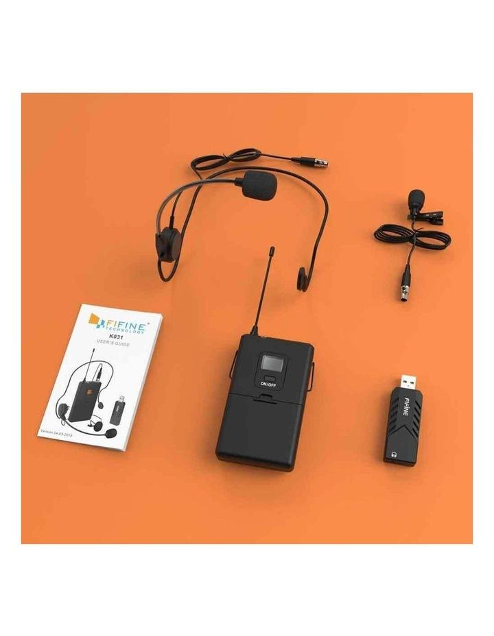 Fifine Technology Lavalier/Headset Cardioid Wireless Microphone Public Address image 2