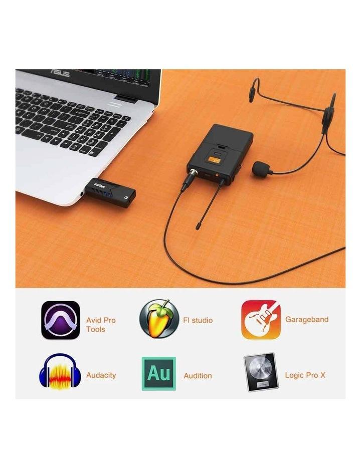 Fifine Technology Lavalier/Headset Cardioid Wireless Microphone Public Address image 3