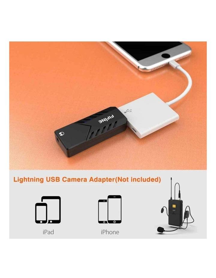 Fifine Technology Lavalier/Headset Cardioid Wireless Microphone Public Address image 4