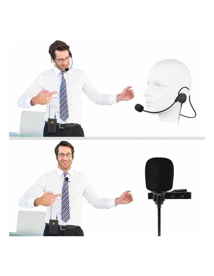 Fifine Technology Lavalier/Headset Cardioid Wireless Microphone Public Address image 5