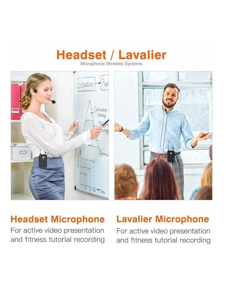 Fifine Technology Lavalier/Headset Cardioid Wireless Microphone Public Address image 6