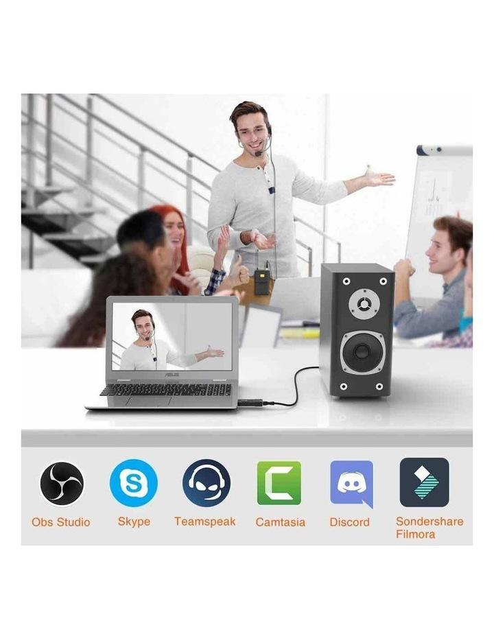 Fifine Technology Lavalier/Headset Cardioid Wireless Microphone Public Address image 7