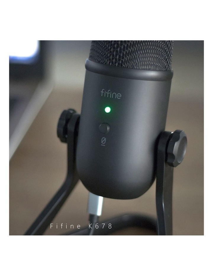Fifine K678 USB Cardioid Condenser Microphone image 5