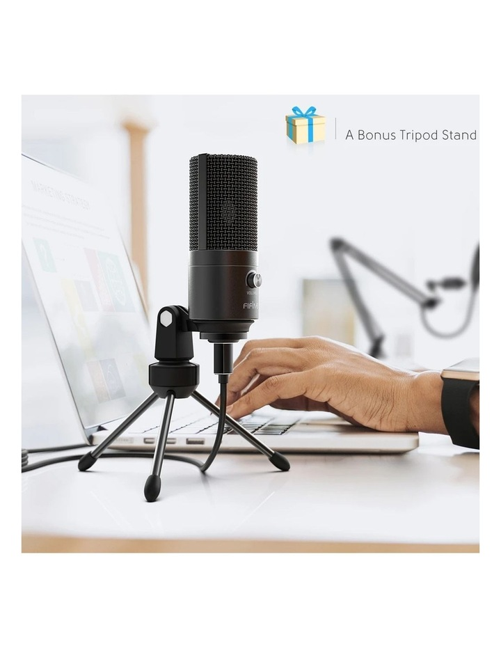 Fifine Technology USB Condenser Broadcast/Podcast Microphone w/Filter/Desk Stand image 6