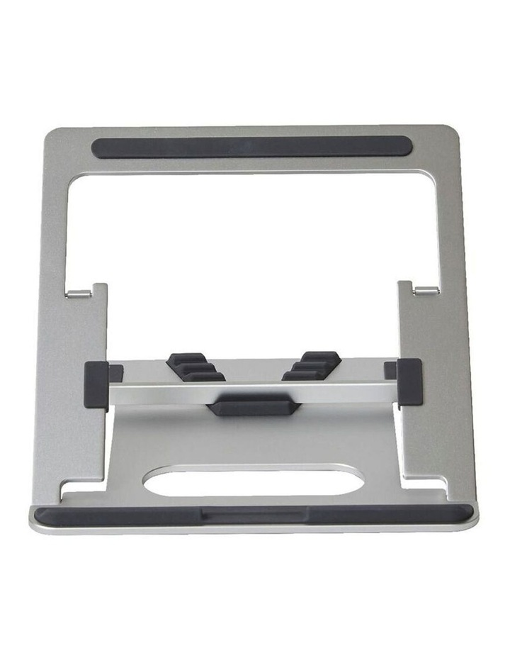 """Pout Eyes 3 Angle Aluminium Universal 10-17"""" Adjustable Laptop Stand/Riser Silver image 2"""