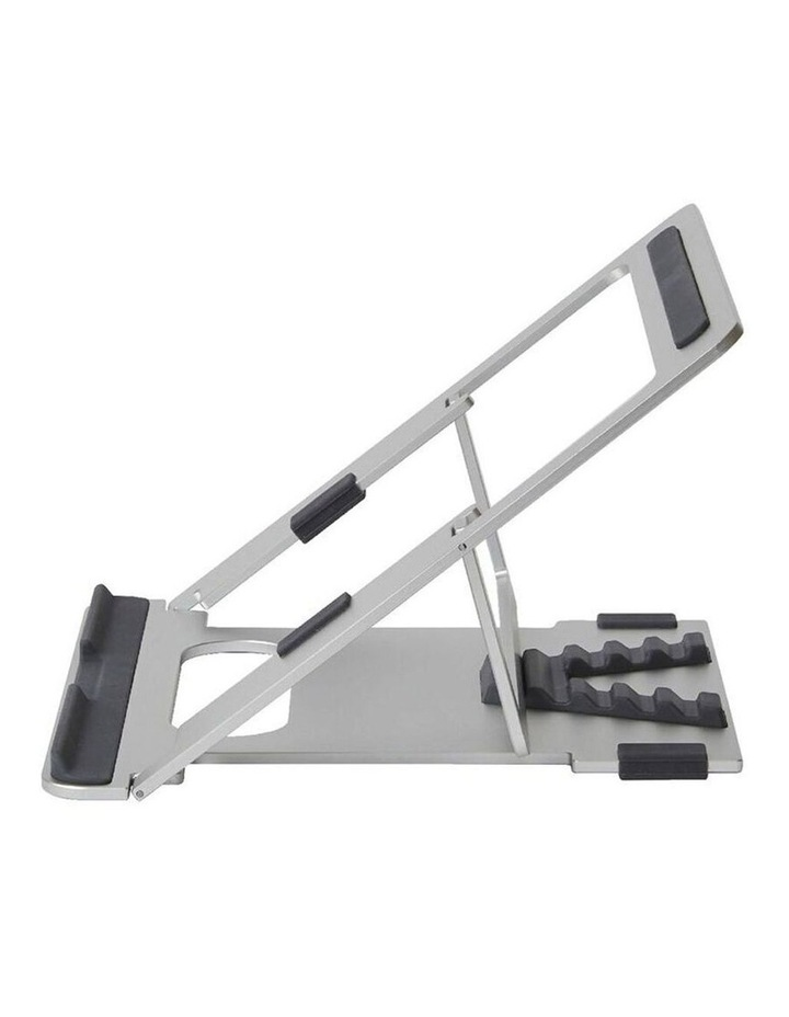 """Pout Eyes 3 Angle Aluminium Universal 10-17"""" Adjustable Laptop Stand/Riser Silver image 3"""