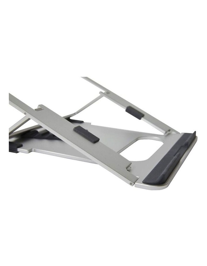 """Pout Eyes 3 Angle Aluminium Universal 10-17"""" Adjustable Laptop Stand/Riser Silver image 4"""