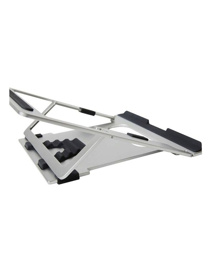 """Pout Eyes 3 Angle Aluminium Universal 10-17"""" Adjustable Laptop Stand/Riser Silver image 5"""