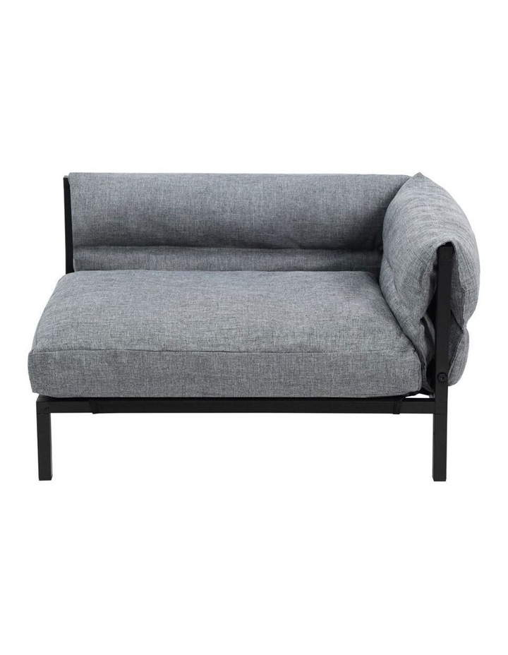 64.5cm Elevated Sofa Pet/Dog Medium Bed w/ Removable Cushion Grey image 1