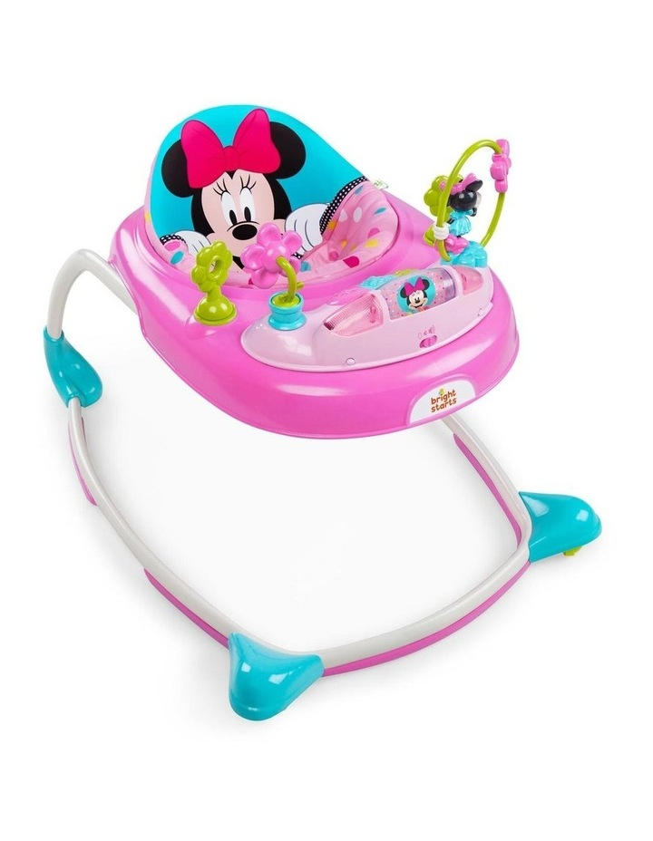 Disney Minnie Mouse Walker with Play Toy/Sound/Light for Baby/Toddler image 1