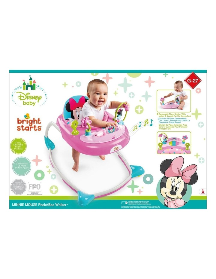 Disney Minnie Mouse Walker with Play Toy/Sound/Light for Baby/Toddler image 3