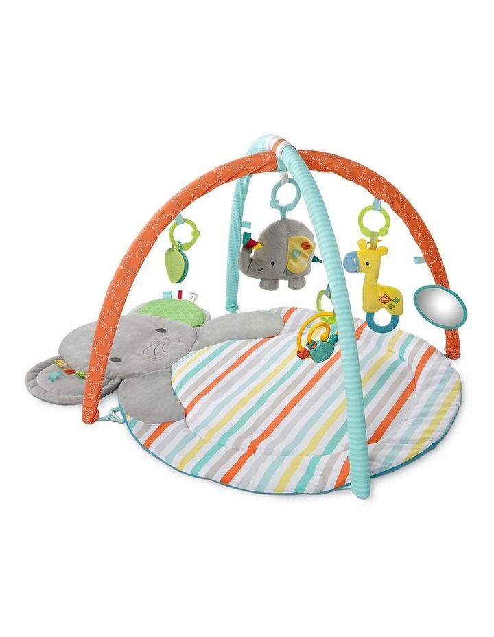 Hug N Cuddle Elephant Baby Activity Gym Play Mat with Plush/Music/Toy image 1